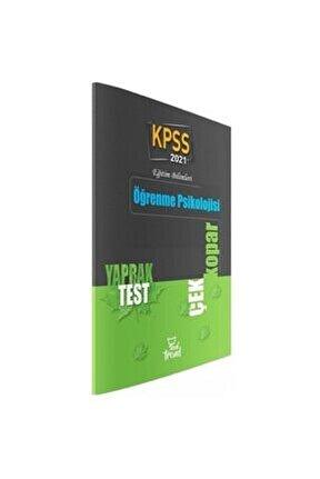 2021 Kpss Eğitim Bilimleri Öğrenme Psikolojisi Yaprak Test Beyaz Kalem