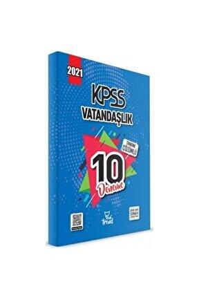2021 Kpss Vatandaşlık 10 Deneme Çözümlü Yeni Trend Beyaz Kalem Yayınları