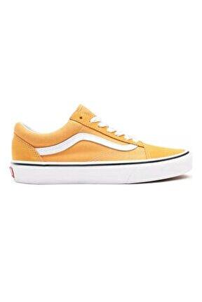 Ua Old Skool Golden Nugget/true White Unisex Spor Ayakkabısı