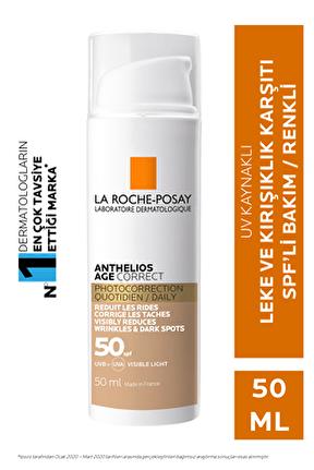 Anthelios Age Correct Cc Cream Tinted Spf50 50 ml
