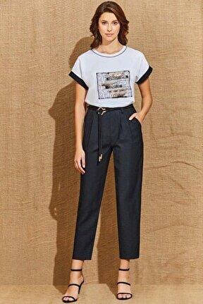 Kadın Siyah Kısa Pantolon