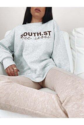 Santa Monica Sweatshirt - Gri - M - Prpx34000568-gri-m