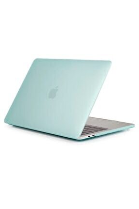 "Apple Macbook Air 13"" A1932 A2179 Yeşil Koruma Kılıfı Kapak"