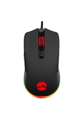 Rampage Sgm-l1 Lumos 6400dpi Rgb Ledli Makrolu Gaming Oyuncu Mouse 8 Tuşlu