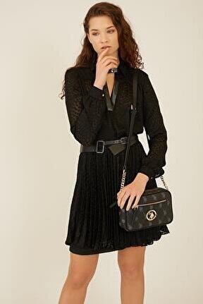 Us8704 Siyah Kadın Çapraz Çanta