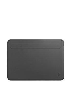 Macbook Air Pro Laptop Çantası Kadın Erkek Deri El Çantası 13inc Miknatisli Notebook Kılıfı 1976
