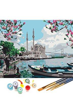 Sayılarla Boyama Hobi Seti 40x50 Cm Ortaköy
