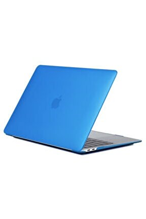 """Macbook Pro 13"""" A1706 A1708 A1989 A2159 Uyumlu  Lacivert Kılıf"""