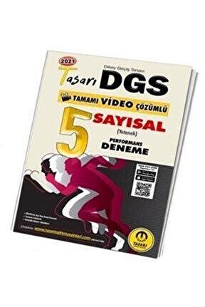 Tasarı 2021 Dgs Sayısal (Matematik) Video Çözümlü 5 Performans Deneme