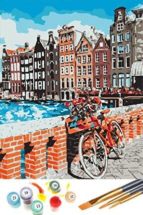 Sayılarla Boyama Hobi Seti 40x50 Cm Amsterdam