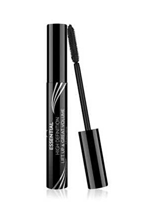 Hacim Etkili Siyah Maskara - Essential High Definition&Liftup&Great Volume Mascara