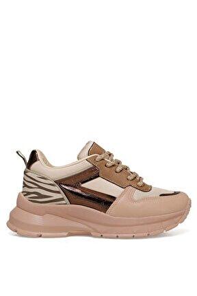 Zebına Pudra Kadın Fashion Sneaker