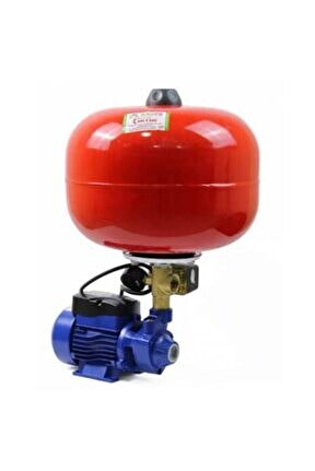 24 Litre Küreli Ev Tipi Hidrofor Seti 2 Kat 2 Daire 0,50hp 20 Metre Dik Su Basıncı