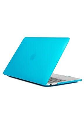 "Apple Macbook Pro 13"" A1706 A1708 A1989 A2159 Mavi Kılıf Koruyucu Kapak"