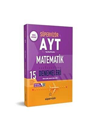 Süpervizör Ayt Matematik 15'li Denemeleri