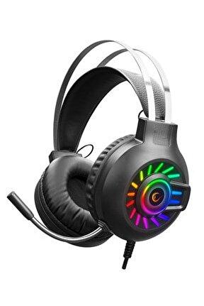 Rm-k44 Zengibar 7.1 Surround Rgb Gaming Mikrofonlu Oyuncu Kulaklığı
