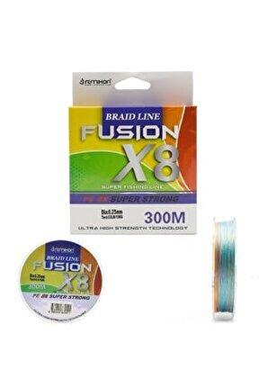Remıxon Fusıon 300m X8 Multı Color Ip Mısına 0,30mm