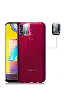 Samsung Galaxy M31 Kamera Lens Koruyucu 1. Kalite Nano Cam Filmi
