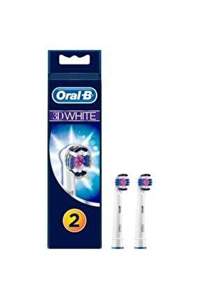 Eb18 3d White Diş Fırçası 2 Li Yedek Başlığı