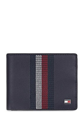 Erkek Stitched Leather Mini Cc Cüzdan AM0AM05471