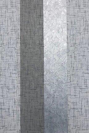 Point 12531 Gri Çizgili Desen Duvar Kağıdı 5,33 M²