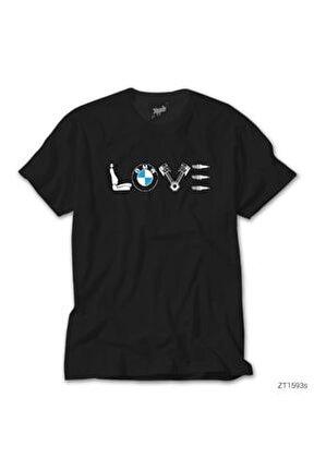 Bmw Love Siyah Tişört