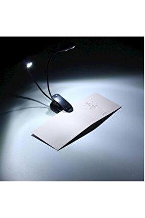 Taşınabilir 2 Li Mandallı Usb Led Kitap Okuma Işık Masa Lamba Gece Lambası Srf-ld-10