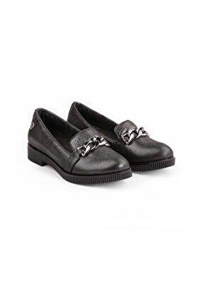430 Gerçek Deri Bayan Ayakkabı