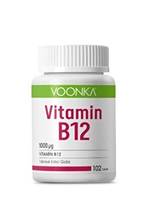 Vitamin B12 1000 Mg 102 Tablet