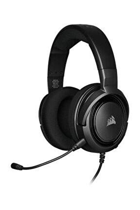 HS35 Siyah Stereo Oyuncu Kulaklığı