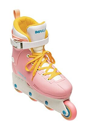 Lightspeed Inline Skate Pink/Yellow Paten