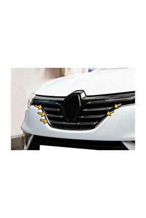 Renault Megane 4 Krom Ön Panjur 5 Parça 2015 Üzeri