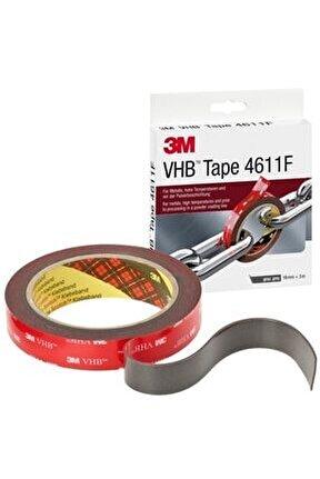 Bant Vhb 4611f 19mmx Çıft Trf (gri )