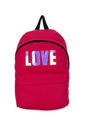 Renkli Yazı Detaylı Okul Çantası Kız Çocuk OKUL ÇANTASI 536CS0863AZ K