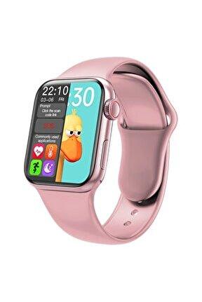 Hw16 Plus Akıllı Saat Yan Tuş Aktif Tam Ekranlı 2' Ye Bölme Ince Slim 44 Mm Ekran Konuşma Özelliği