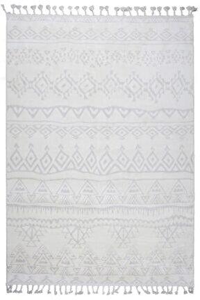 Çam Halı Libas Lb1612 Beyaz Bej Iskandinav Tarzı Modern Halı