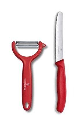 2li Set - Dik Soyacak Ve 11 Cm Bıçak
