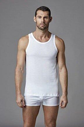 Beyaz Modal Erkek Atlet