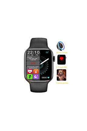 Hw22 Smart Watch Akıllı Saat Tam Ekranlı Yan Tuş Aktif Bluetooth Nabız Ölçme-konuşma Özellikli