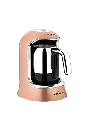 Kahvekolik Rosegold Krom Otomatik Kahve Makinesi A860-06