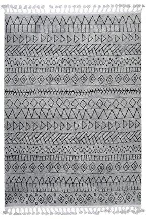 Çam Halı Libas Lb1602 Gri Füme Iskandinav Tarzı Modern Halı