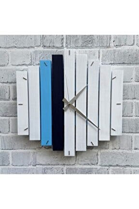 Geometrik Duvar Saati 40x40 cm