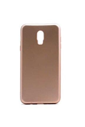 Galaxy C8 Kılıf Klasik Mat Renkli Yumuşak Premier Silikon