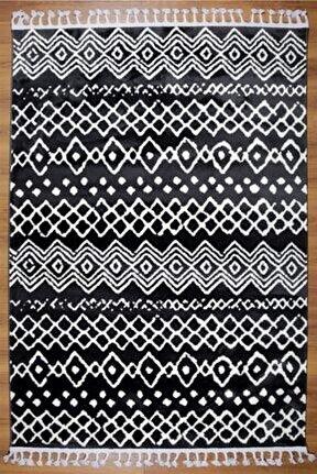 Çam Halı Coco Cc810 Antrasit Iskandinav Tarzı Modern Halı