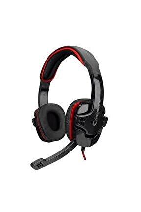 Sn-r9 Oyuncu Siyah/kırmızı Mikrofonlu Kulaklık