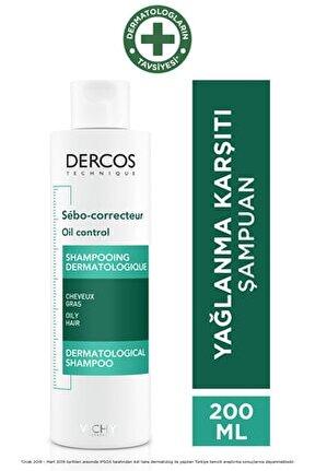 Dercos Oil Control Aşırı Yağlanmaya Karşı Etkili Bakım Şampuanı 200 ml 3337871311346