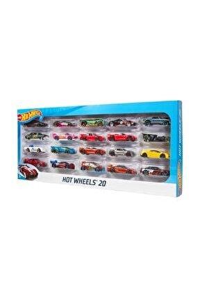 20'li Araba Seti Erkek Çocuk Koleksiyonluk Araba 20li Metak Araba