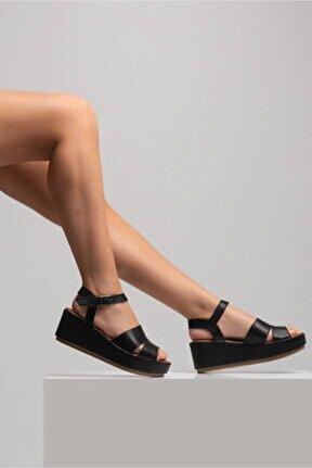 Kadın Siyah Sandalet
