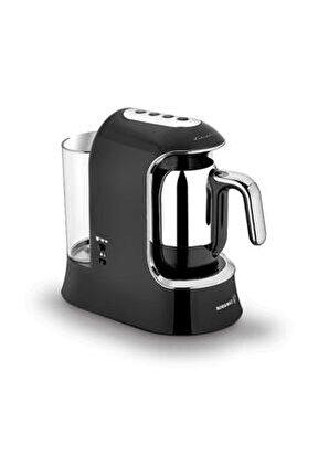 Kahvekolik Aqua Siyah/krom Otomatik Kahve Makinesi A862-01