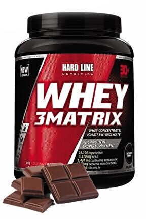 Whey 3 Matrix Çikolata Çikolatalı 908 gr Protein Tozu Kas Bcaa Aminoasit